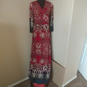 On Trend Maxi Dress